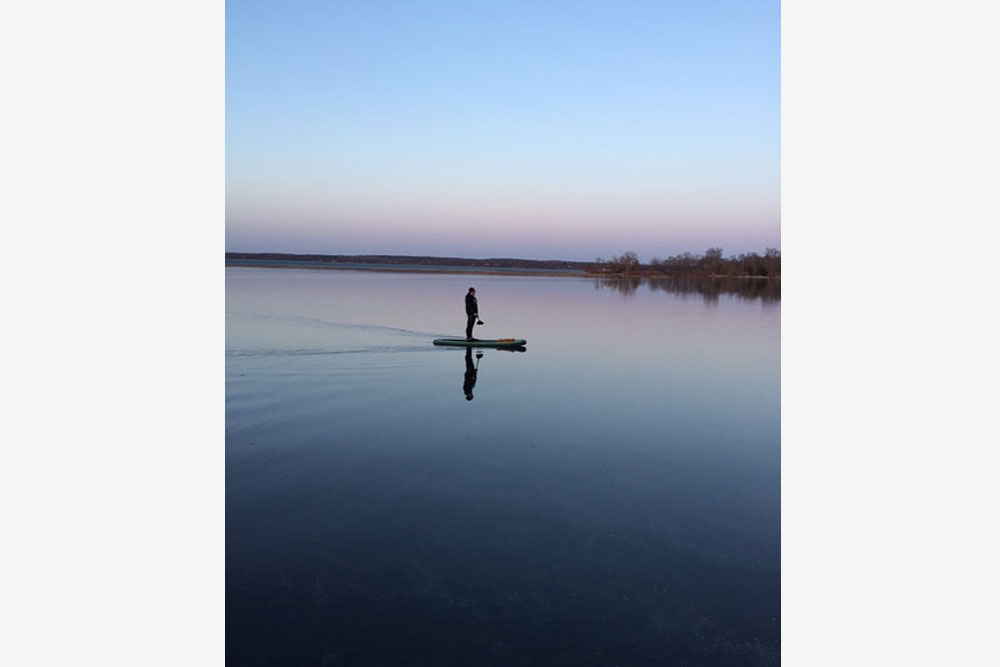 9ft 4in stand-up paddle baord 2